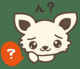"chihuahua ""kawaii"" stamp sticker #4506823"