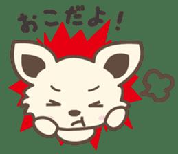 "chihuahua ""kawaii"" stamp sticker #4506824"