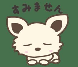 "chihuahua ""kawaii"" stamp sticker #4506825"