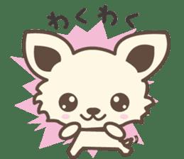 "chihuahua ""kawaii"" stamp sticker #4506827"