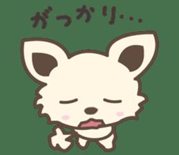 "chihuahua ""kawaii"" stamp sticker #4506829"