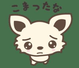"chihuahua ""kawaii"" stamp sticker #4506830"