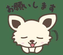 "chihuahua ""kawaii"" stamp sticker #4506831"