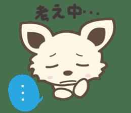 "chihuahua ""kawaii"" stamp sticker #4506835"