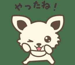 "chihuahua ""kawaii"" stamp sticker #4506836"