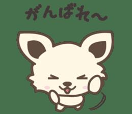"chihuahua ""kawaii"" stamp sticker #4506837"