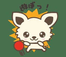 "chihuahua ""kawaii"" stamp sticker #4506838"