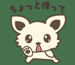"chihuahua ""kawaii"" stamp sticker #4506840"