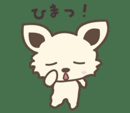 "chihuahua ""kawaii"" stamp sticker #4506841"
