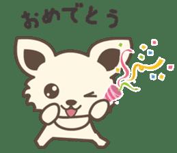 "chihuahua ""kawaii"" stamp sticker #4506842"