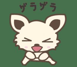 "chihuahua ""kawaii"" stamp sticker #4506845"