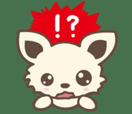"chihuahua ""kawaii"" stamp sticker #4506846"