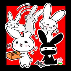 Work rabbit!(English version)