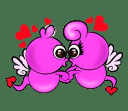 Cupid Pink sticker #4515145