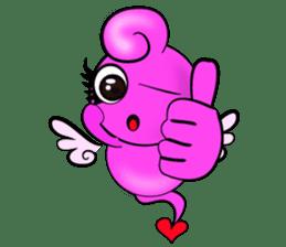 Cupid Pink sticker #4515168