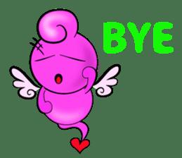 Cupid Pink sticker #4515175
