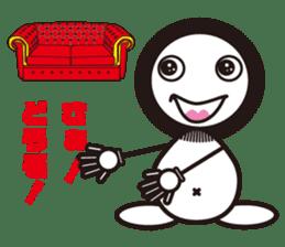 Kejyara-chan sticker #4518950
