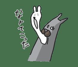 Colorful Rabbit-s sticker #4519626