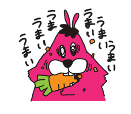 Colorful Rabbit-s sticker #4519641