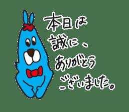 Colorful Rabbit-s sticker #4519653