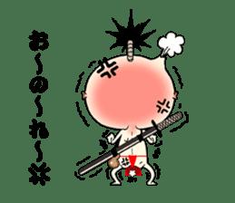 samurai mr. utuke sticker #4519940