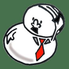 YUKIDARUMAN sticker #4522697