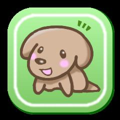 Sticker of Small dog