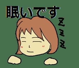 Sticker for depression patients sticker #4523976