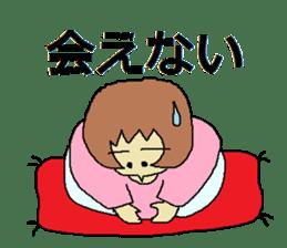 Sticker for depression patients sticker #4523992