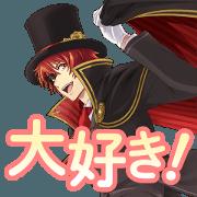 สติ๊กเกอร์ไลน์ Utano Princesama Shining Live Vol.1