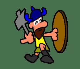 Alex the funny viking sticker #4538811