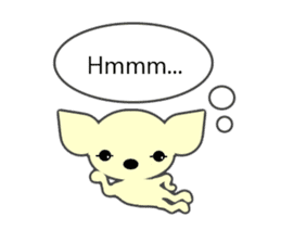 Talking Chihuahua sticker #4540825