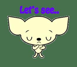 Talking Chihuahua sticker #4540850