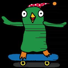 ナゾの鳥ばぁ〜どんの衝撃的な一日