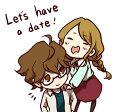 I Love My Partner[ENG] sticker #4542274