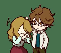 I Love My Partner[ENG] sticker #4542281