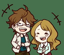 I Love My Partner[ENG] sticker #4542299