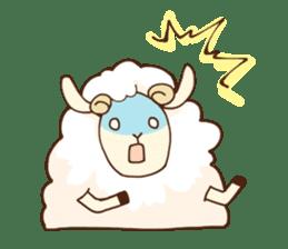Marshmallow sheep sticker #4542809