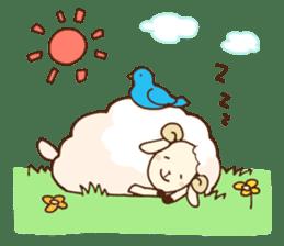 Marshmallow sheep sticker #4542821