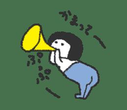 Oshiri-chan sticker #4544398