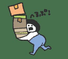 Oshiri-chan sticker #4544404