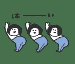 Oshiri-chan sticker #4544407