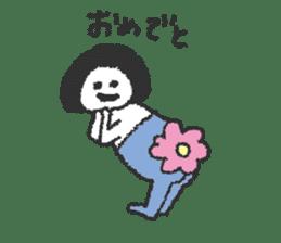 Oshiri-chan sticker #4544411