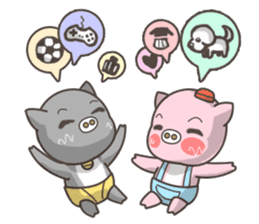Moonum & Moonim sticker #4544458