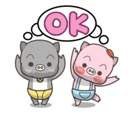Moonum & Moonim sticker #4544460