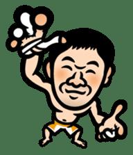"""Kazushi Sakuraba """"SAKU-Machine"""" sticker #4544725"""