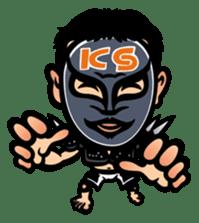 """Kazushi Sakuraba """"SAKU-Machine"""" sticker #4544728"""