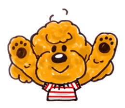 Toy poodle of all sticker #4547465