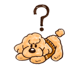 Toy poodle of all sticker #4547468