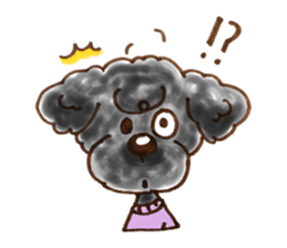 Toy poodle of all sticker #4547469